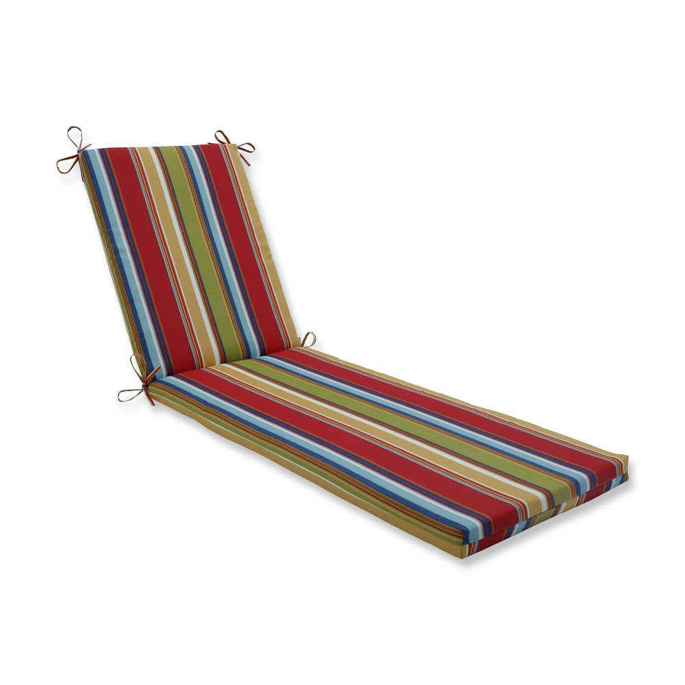 Westport Garden Indoor/Outdoor Chaise Lounge Cushion - Pillow Perfect, Multi-Colored