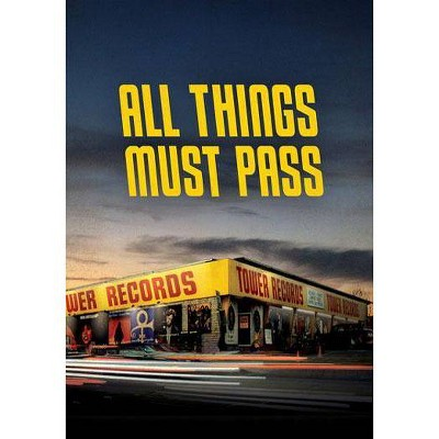 All Things Must Pass: The Rise and Fall of Tower Records (DVD)(2016)
