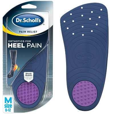Dr. Scholl's Pain Relief Orthotics for Heel Pain for Men - 1 Pair - Size (8-12)