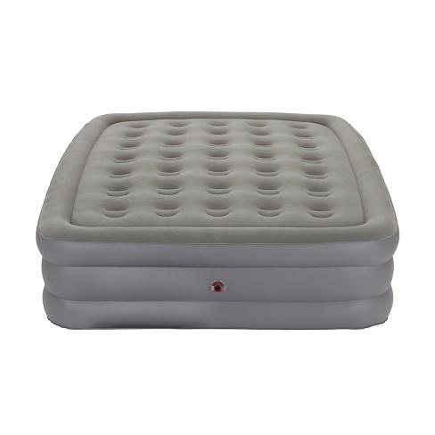 target coleman air mattress Coleman® GuestRest Double High Airbed Queen   Gray : Target target coleman air mattress