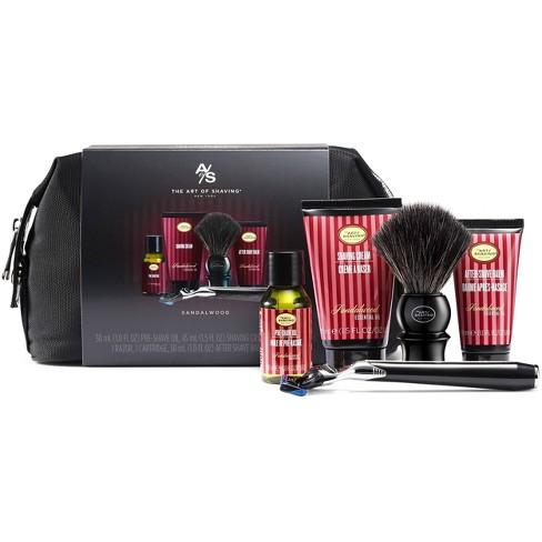The Art Of Shaving Men's Sandalwood Travel Shaving Kit with 5 Bladed Morris Park Razor - image 1 of 4