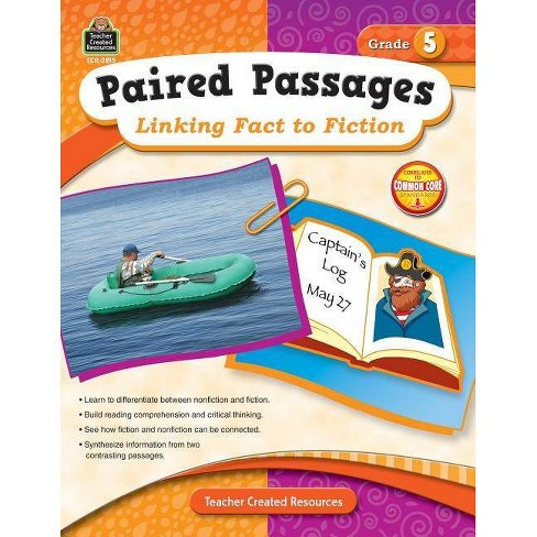 Paired Passages: Linking Fact to Fiction Grade 5 - by  Ruth Foster (Paperback) - image 1 of 1