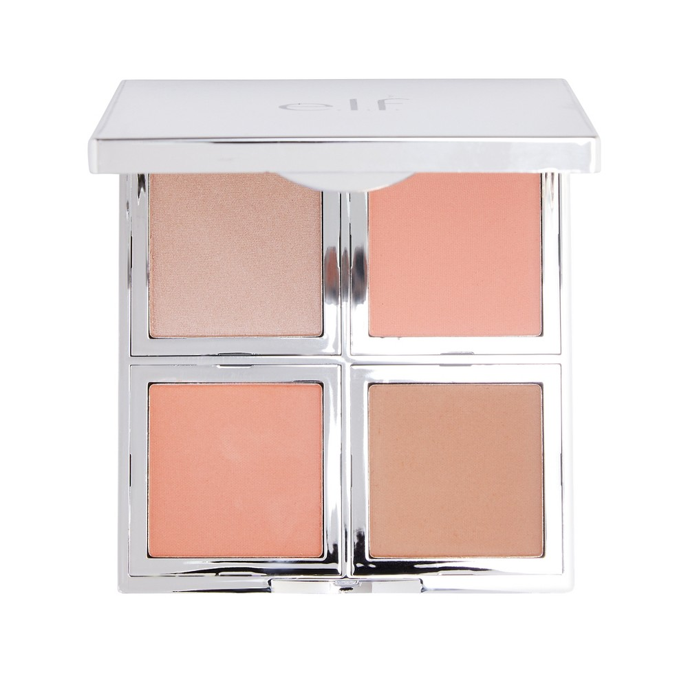 Image of e.l.f. Beautifully Bare Natural Glow Face Palette - .56oz, Fresh & Flawless