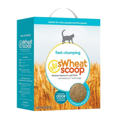 sWheat Scoop Clumping Natural Cat Litter - 15lbs - image 1 of 1