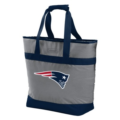 NFL New England Patriots Rawlings 30-Can Soft Sided Cooler Tote