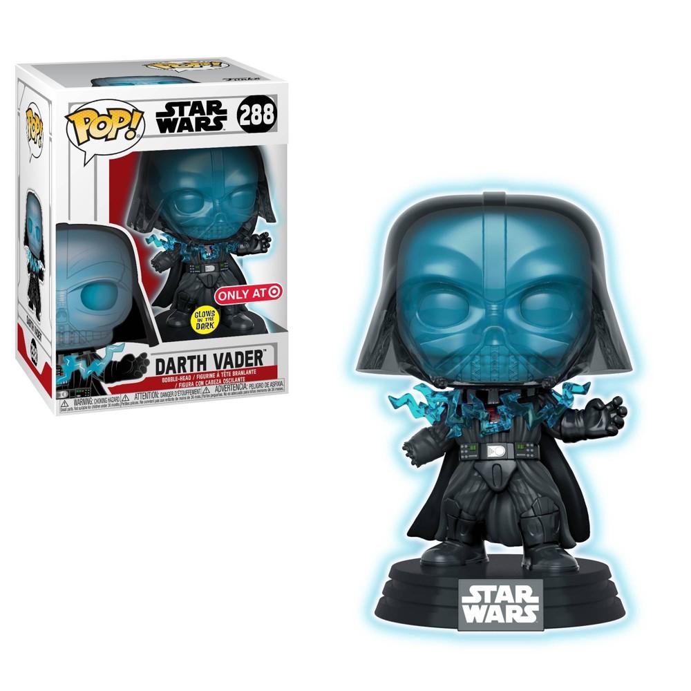 Funko Pop! Movies: Star Wars - Glow In The Dark Electrocuted Darth Vader (Target Exclusive)