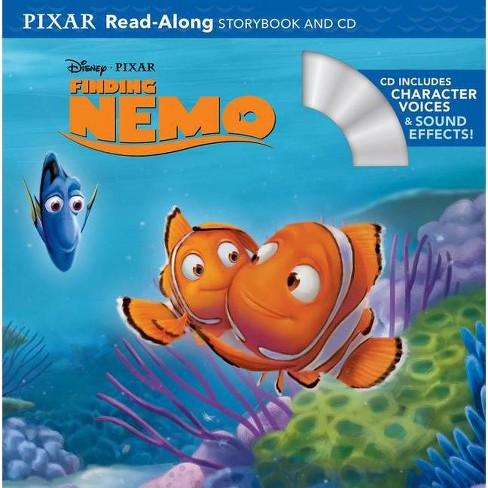 Finding Nemo Read-Along Storybook and CD by Disney Press (Paperback) by Disney Book Group - image 1 of 1