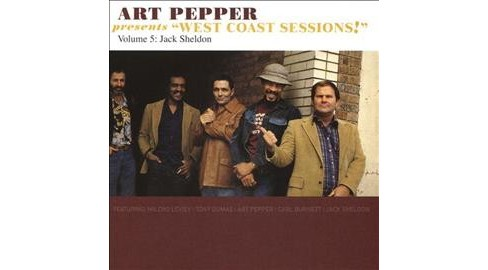 Art Pepper - Art Pepper Presents West Coast Sessio (CD) - image 1 of 1