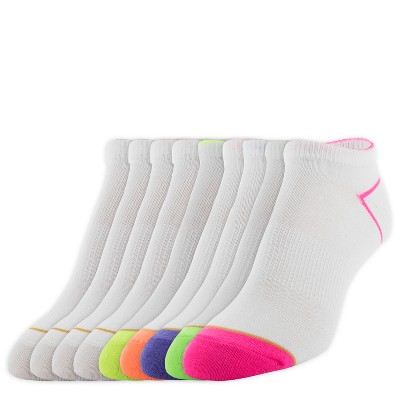 c9fc929c62f All Pro by Gold Toe Womens 6+3pk Flat Knit Athletic Socks with Heel Outlined