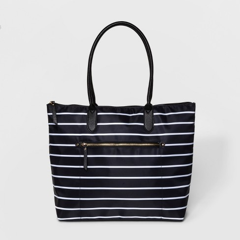 Nylon Quilted Tote Handbag - A New Day™ - image 1 of 3