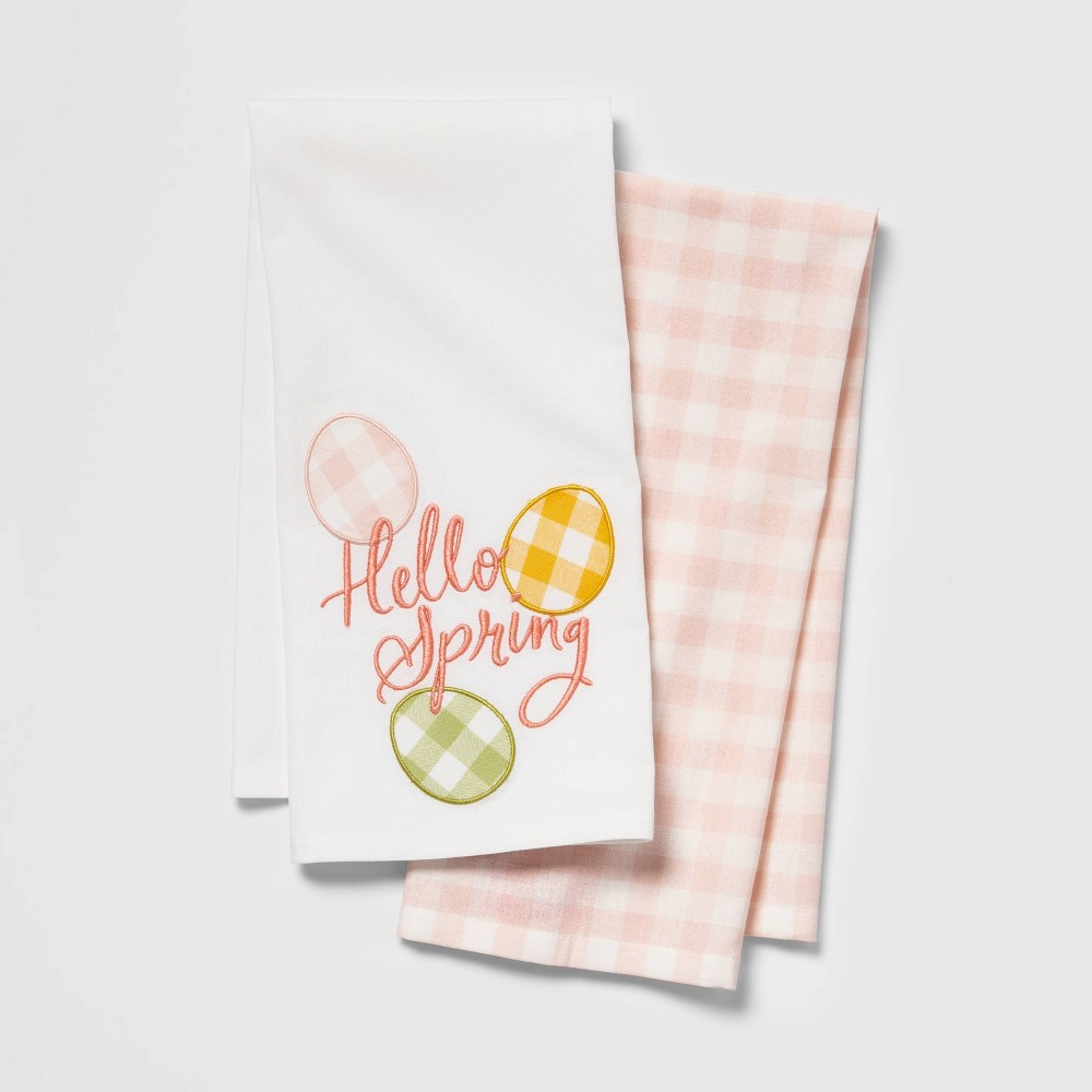 Image of Happy Spring Towel Set, Kitchen Towel
