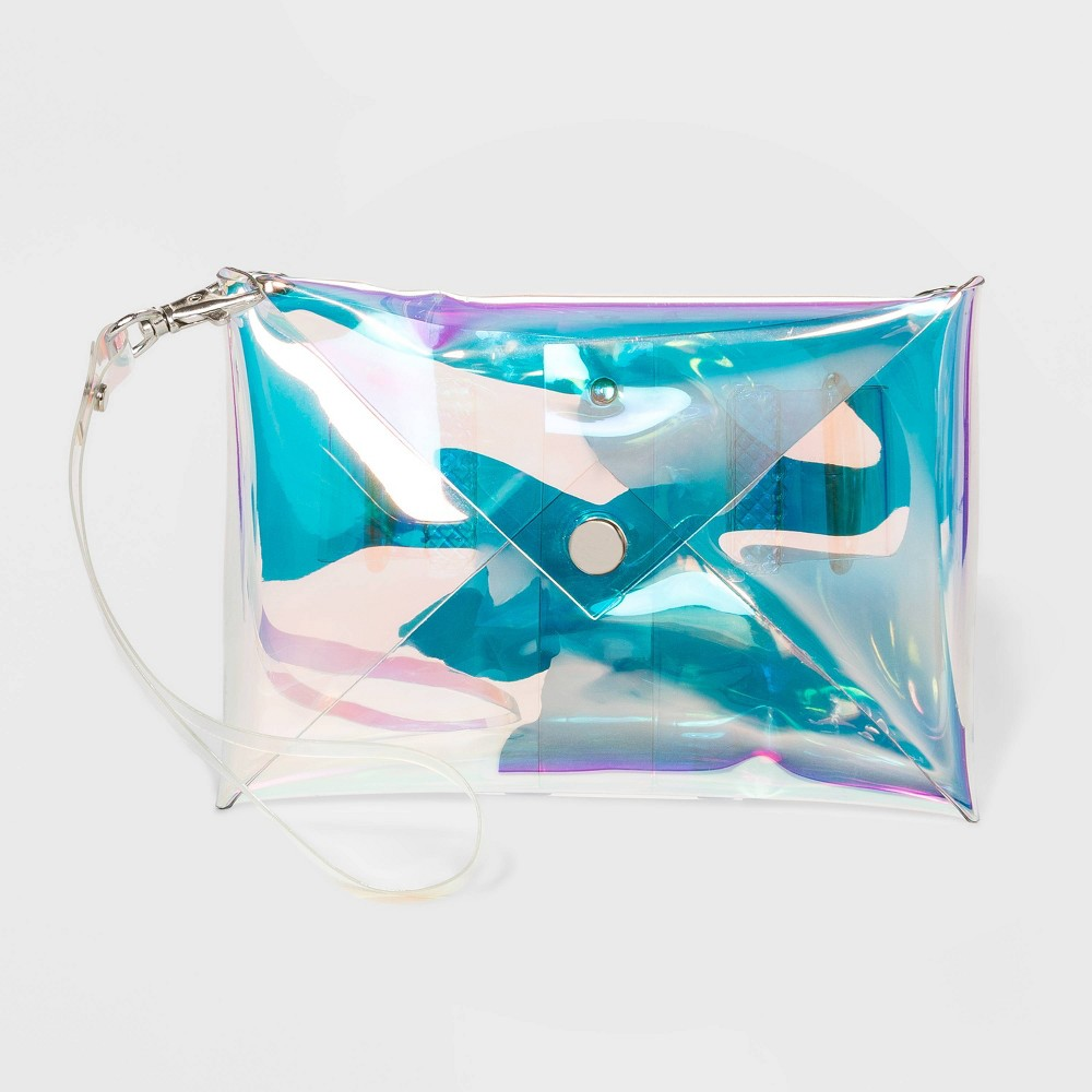 Image of Color Tribe Women's Stadium Friendly Convertible Fanny Pack - Iridescent, Adult Unisex, Size: Small