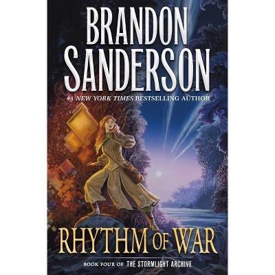 Rhythm of War - (Stormlight Archive, 4) by Brandon Sanderson (Hardcover)