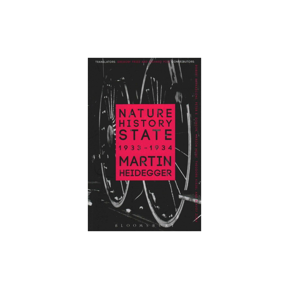 Nature, History, State ( Athlone Contemporary European Thinkers) (Reprint) (Paperback)