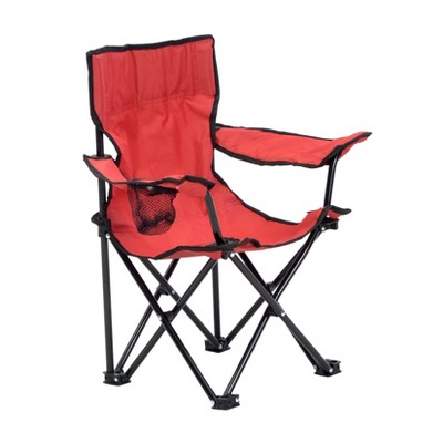 Quik Chair Kid's Folding Chair - Red