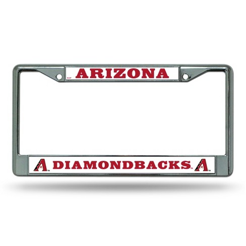 MLB Rico Industries Chrome License Plate Frame - image 1 of 1