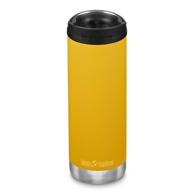 Klean Kanteen 16oz TKWide Insulated Stainless Steel Water Bottle with Cafe Cap