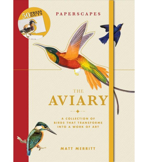 Aviary -  (Paperscapes) by Matt Merritt (Hardcover) - image 1 of 1