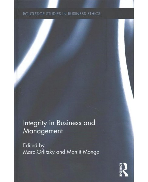 Integrity in Business and Management (Hardcover) - image 1 of 1