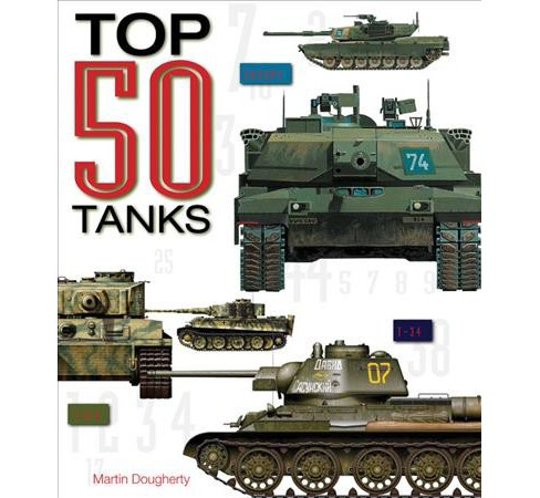Top 50 Tanks (Hardcover) (Martin Dougherty) - image 1 of 1