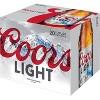 Coors Light Beer - 20pk/12 fl oz Bottles - image 3 of 3