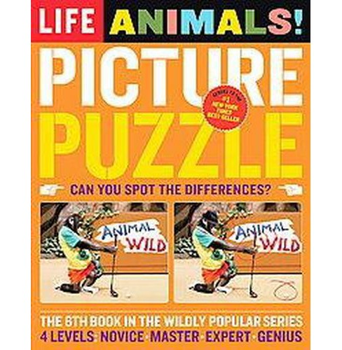 Life Picture Puzzle Animals (Paperback) by Robert Sullivan - image 1 of 1