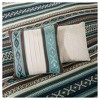 Blue Beau Printed Quilt Set 6pc - image 3 of 4
