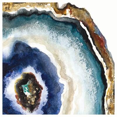 4pk Ceramic Blue Agate Print Coasters - Thirstystone