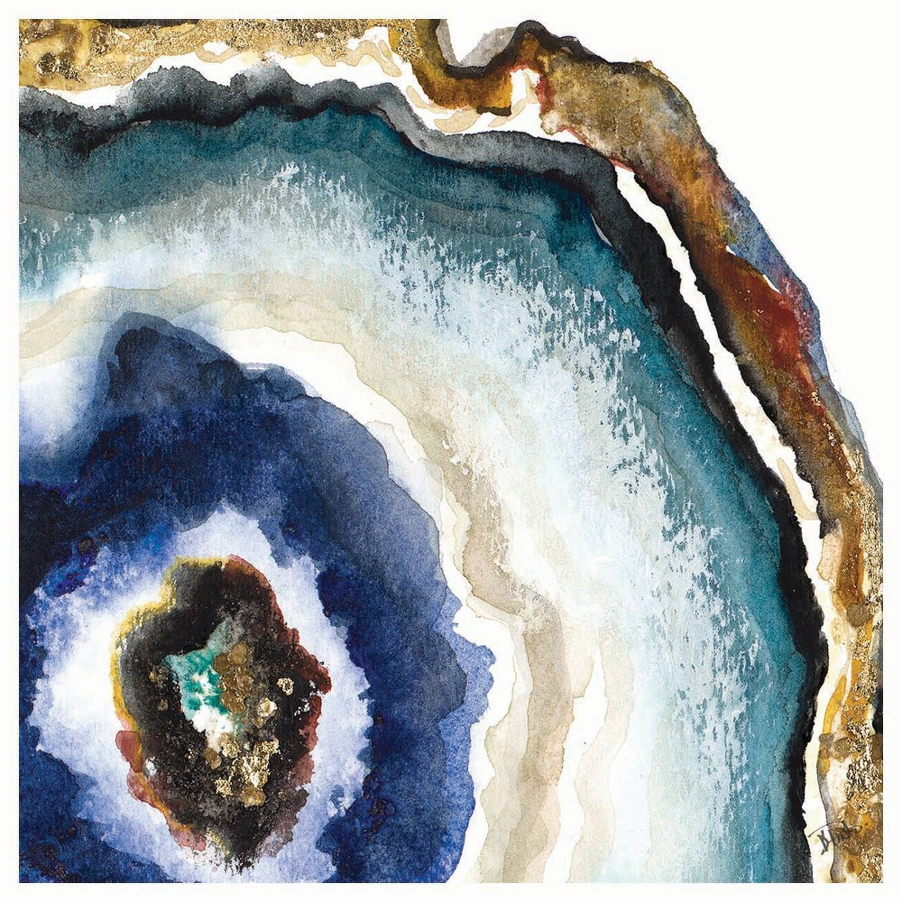 Image of 4pk Ceramic Blue Agate Print Coasters - Thirstystone