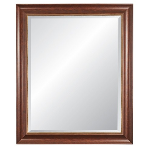 Rectangle Lorrain Decorative Wall Mirror with Cherrywood Frame - Alpine Art and Miror - image 1 of 4