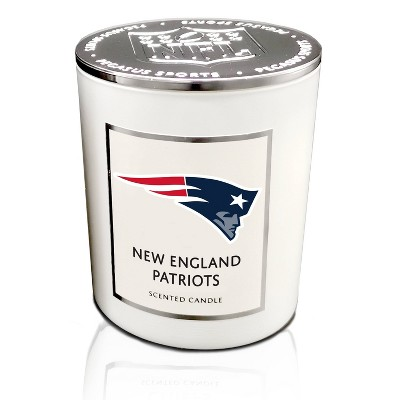 NFL New England Patriots Sweet Victory 16oz Candle with Embossed Lid