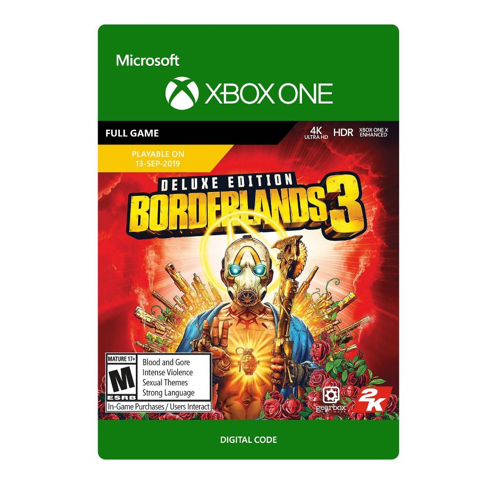 Borderlands 3: Deluxe Edition - Xbox One (Digital)