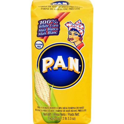 P.A.N. Gluten Free Pre-Cooked White Corn Meal - 35.27oz