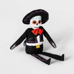 Da de Muertos Guitar Player Skeleton