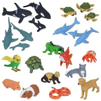 Wild Republic Nature Tube Pets and Aquatic Animals Set