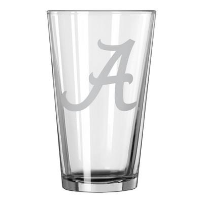 NCAA Alabama Crimson Tide Single Boxed Pint Glass - 16oz