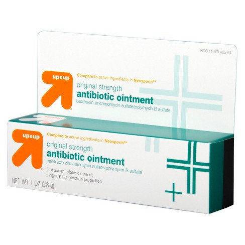 Antibiotic Original Strength First Aid Ointment - 1oz - Up&Up™ (Compare to  active ingredients in Neosporin)