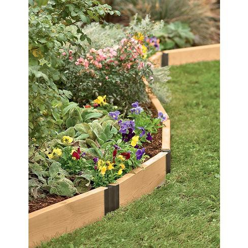 Raised Bed Corners, Pivoting Connectors, 10 Inch Set of 2 - Gardener's Supply Company - image 1 of 1