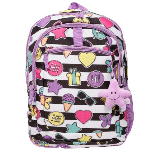 "Crckt 16.5"" Icon Stripe Print Kids' Backpack - image 1 of 8"