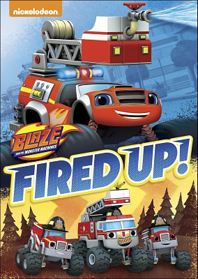 Blaze and the Monster Machines: Fired Up! (DVD)
