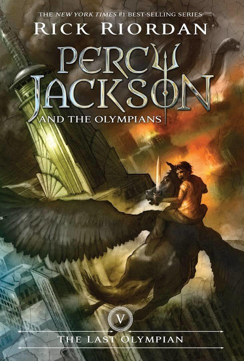 The Last Olympian ( Percy Jackson and the Olympians) (Reprint) (Paperback) by Rick Riordan - image 1 of 1