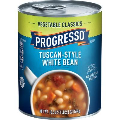 Progresso Vegetable Classics Tuscan-Style White Bean Soup - 18.5oz
