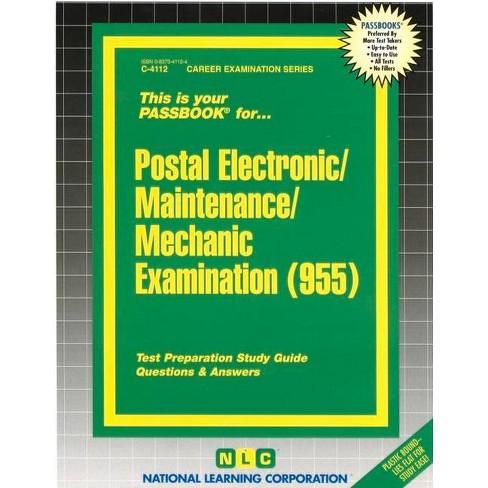 Postal Electronic/Maintenance/Mechanic Examination (955) - (Career Examination Passbooks) (Spiral_bound) - image 1 of 1