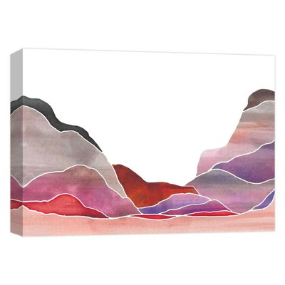 """11"""" x 14"""" Colorful Mountains Decorative Wall Art - PTM Images"""
