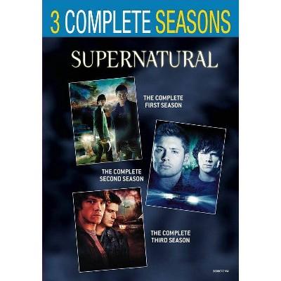 Supernatural: Seasons 1-3 (DVD)