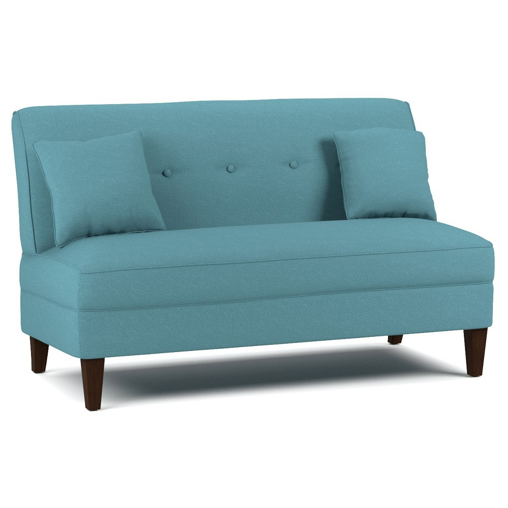 Courtney Loveseat - Caribbean Blue- Handy Living, Caribbean Blue