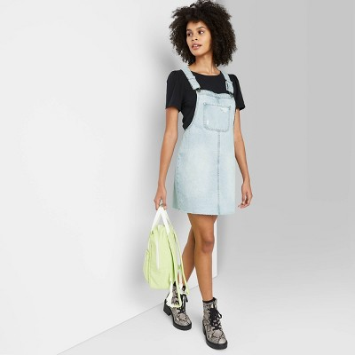 Women's Denim Pinafore - Wild Fable™