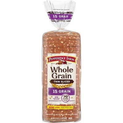 Pepperidge Farm 15 Grain Thin Sliced Bread - 22oz