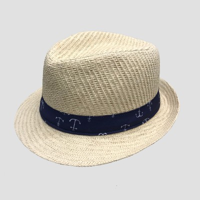5d7dc74f014 Baby Boys  Fedora with Anchor Band - Cat   Jack™ Natural 12-24M