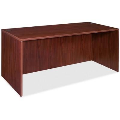 "Lorell Rectangular Desk Shell 60""x30""x29-1/2"" Mahogany 69373"